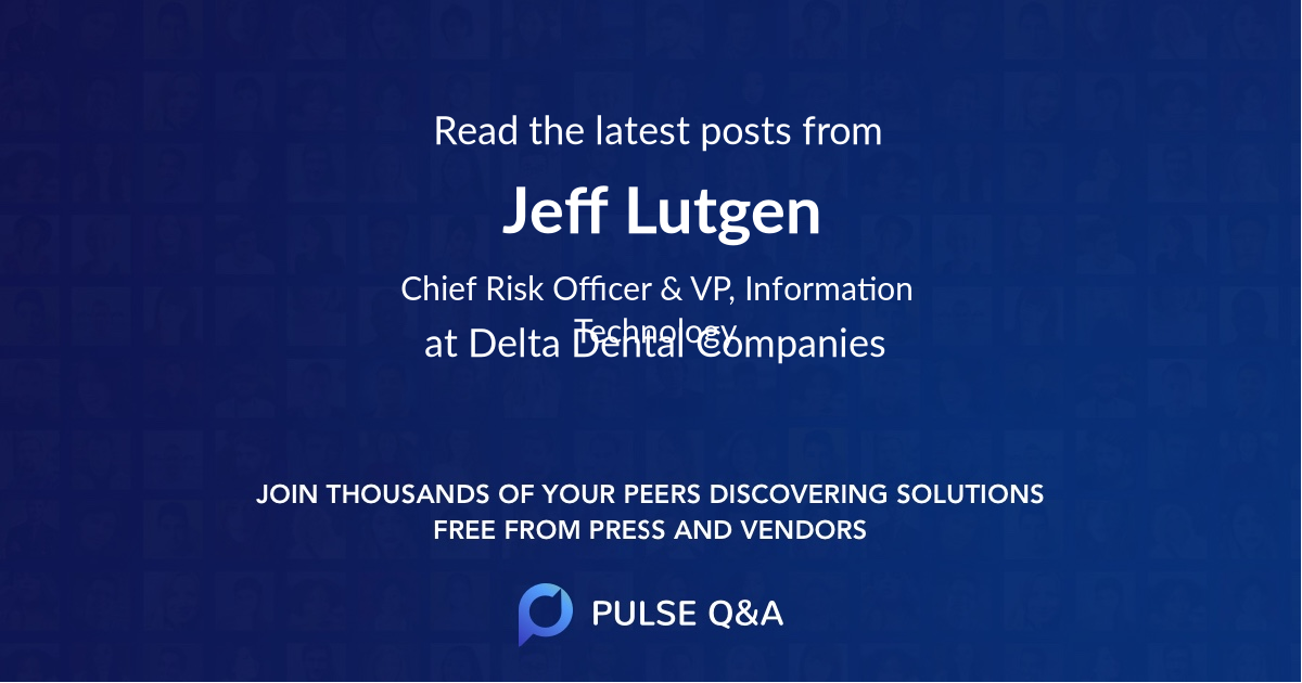 Jeff Lutgen