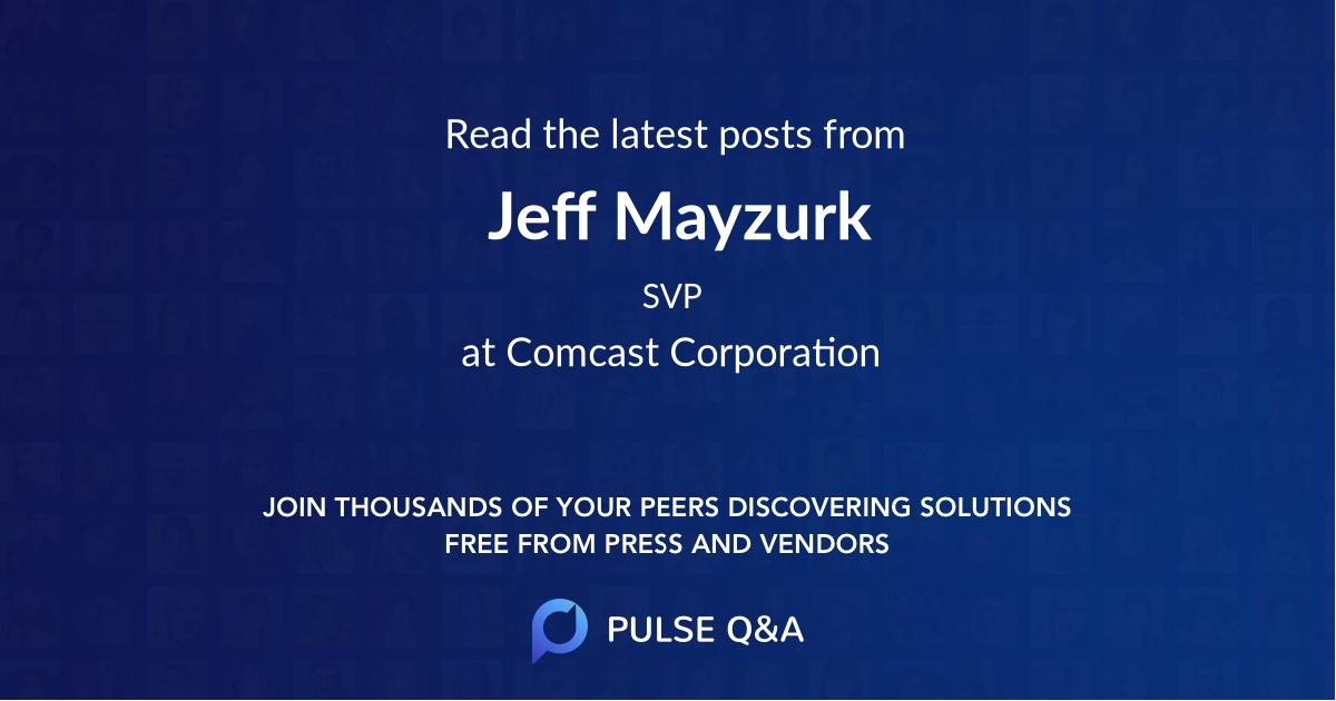 Jeff Mayzurk