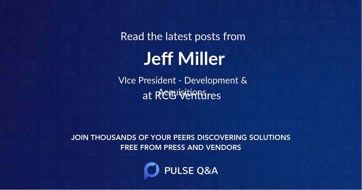 Jeff Miller
