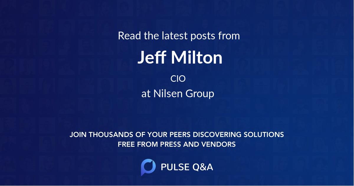 Jeff Milton