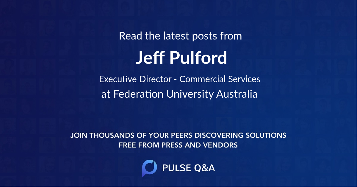 Jeff Pulford
