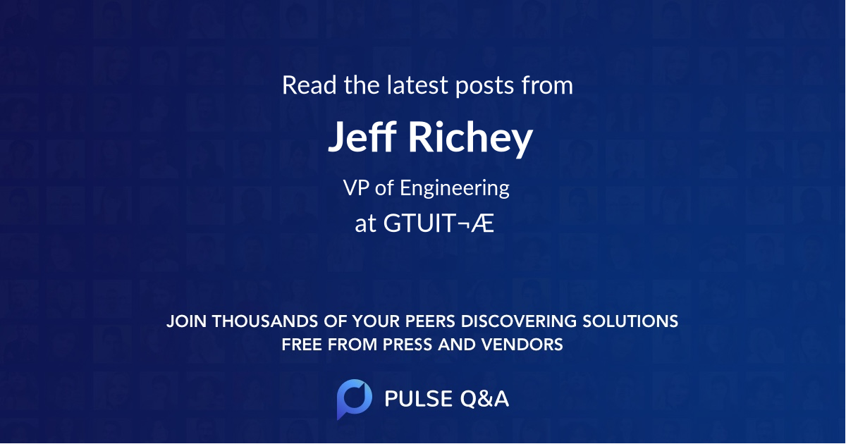 Jeff Richey