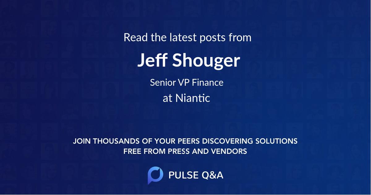 Jeff Shouger