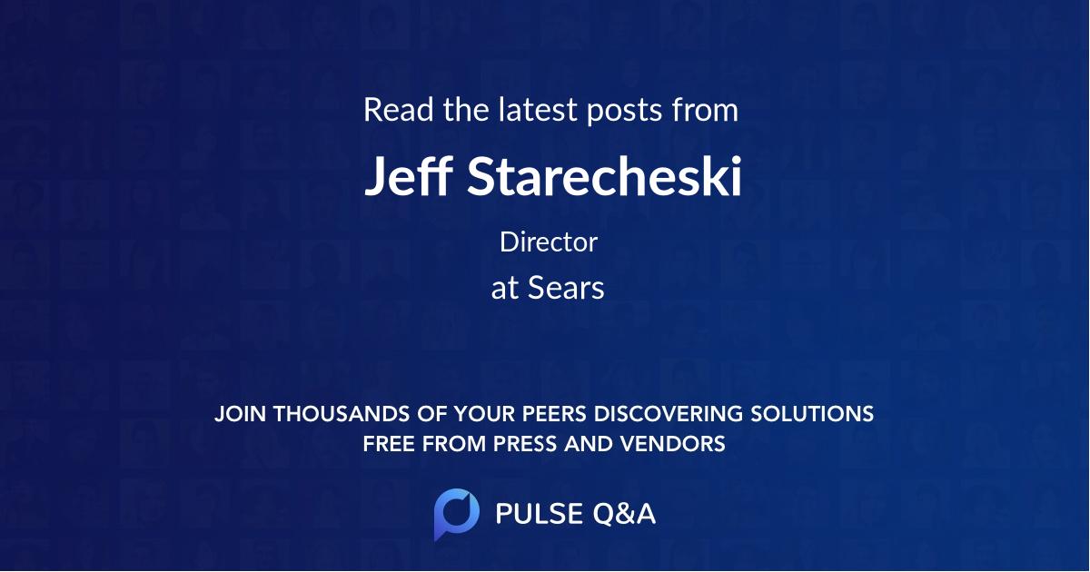 Jeff Starecheski