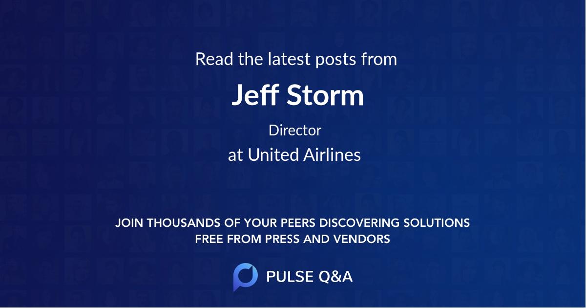 Jeff Storm