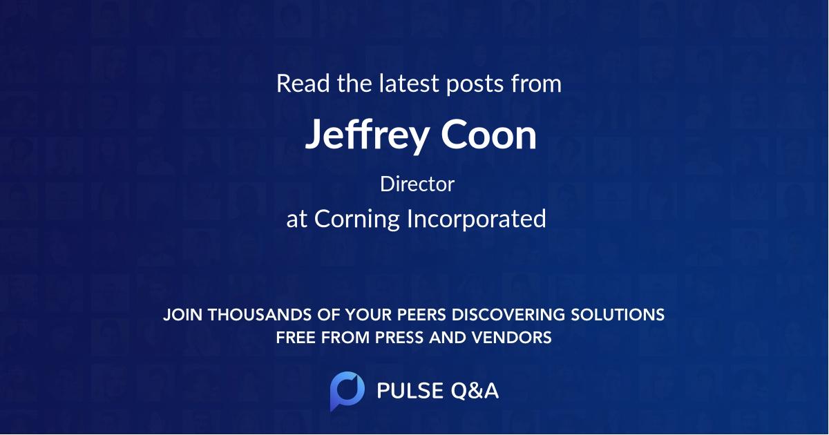 Jeffrey Coon