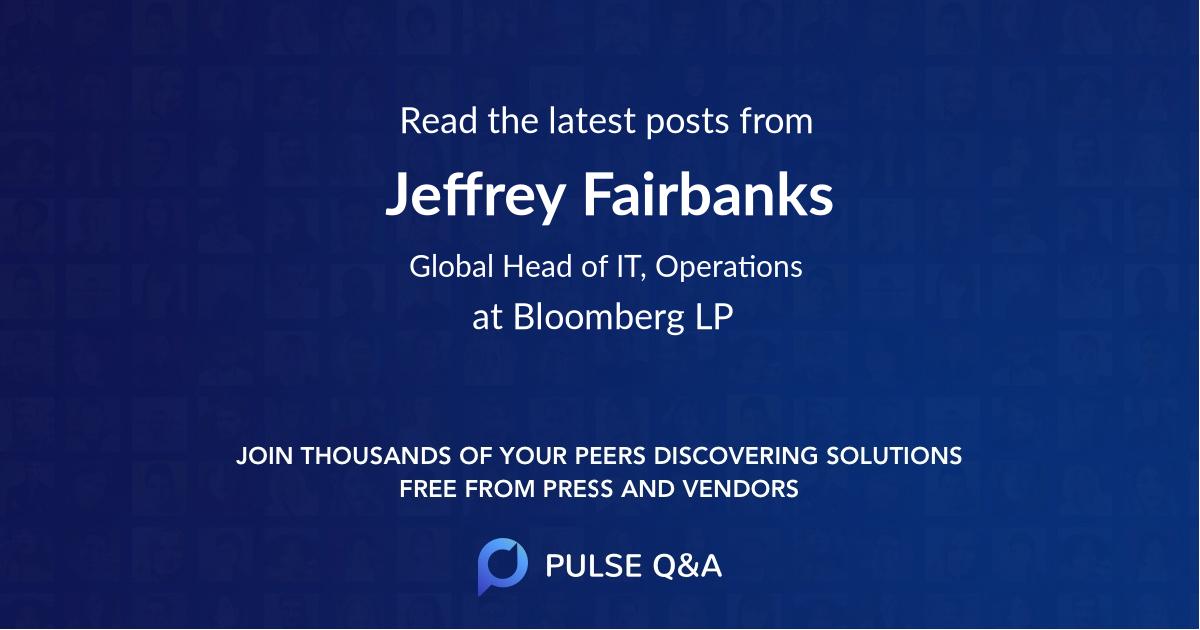 Jeffrey Fairbanks