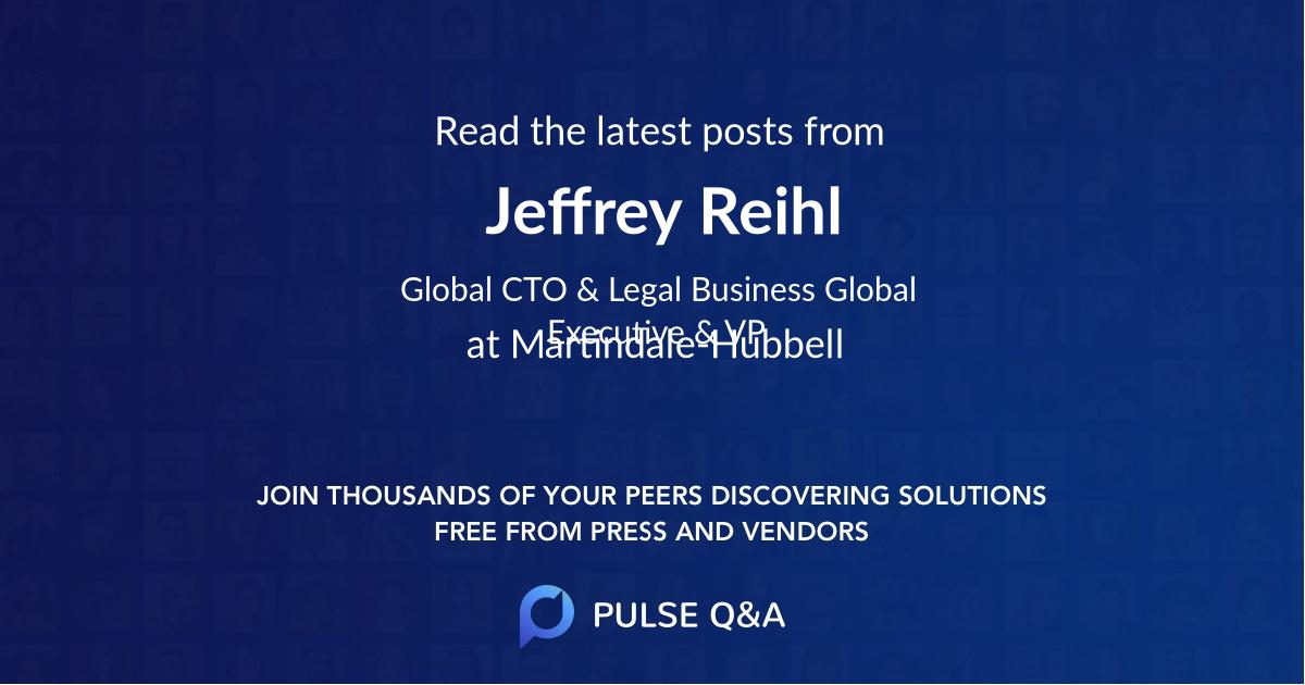 Jeffrey Reihl