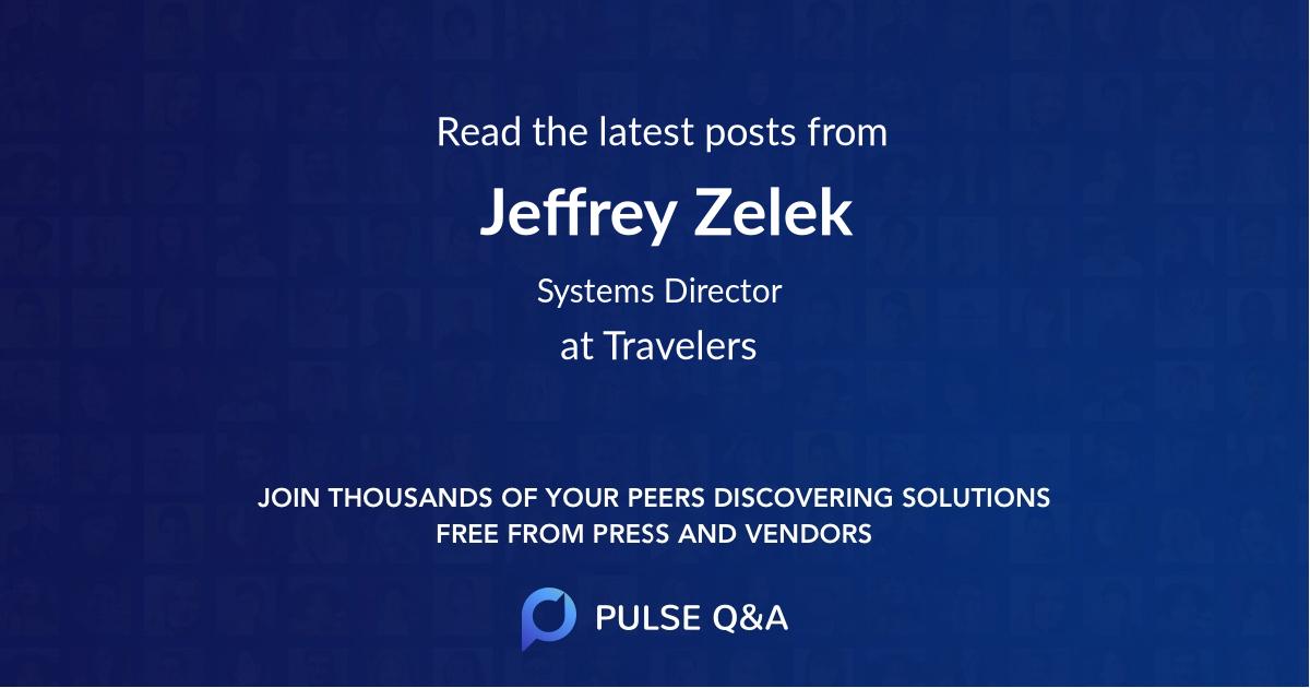 Jeffrey Zelek