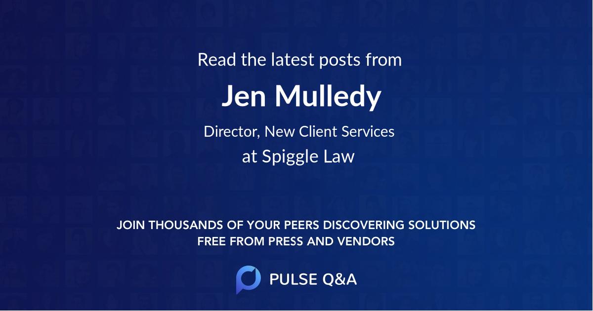 Jen Mulledy