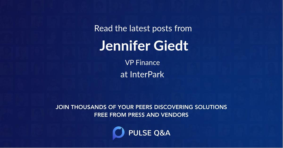 Jennifer Giedt
