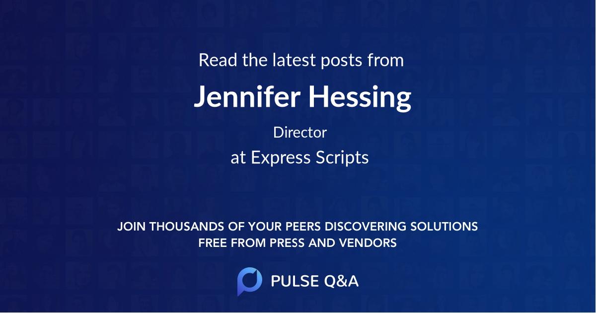 Jennifer Hessing