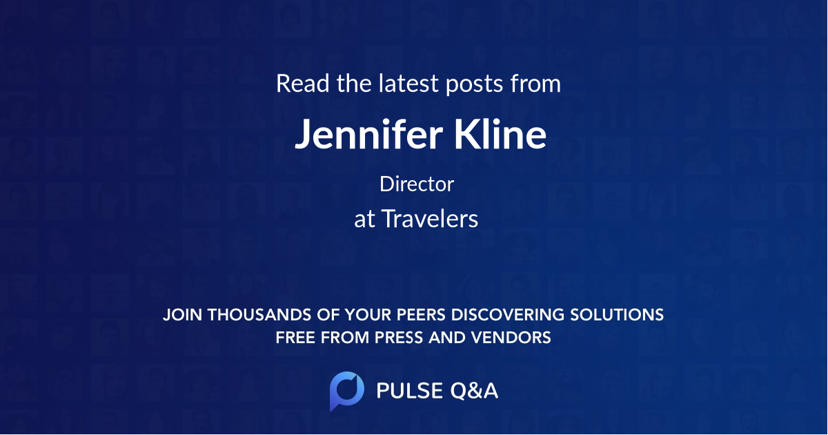 Jennifer Kline