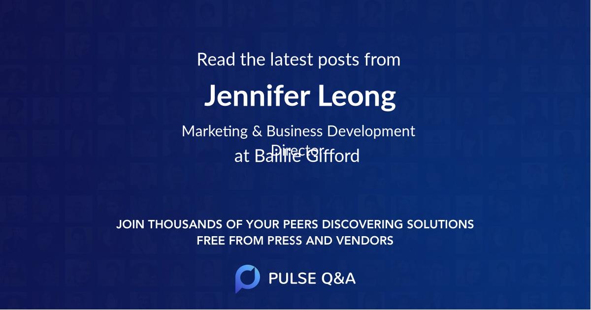 Jennifer Leong