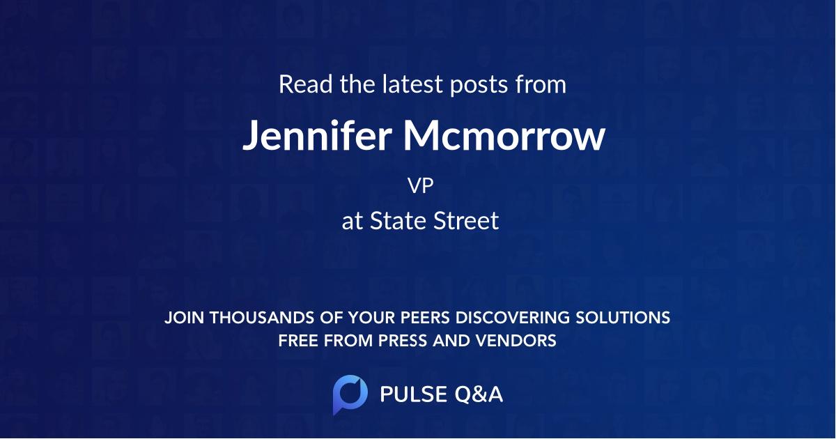 Jennifer Mcmorrow