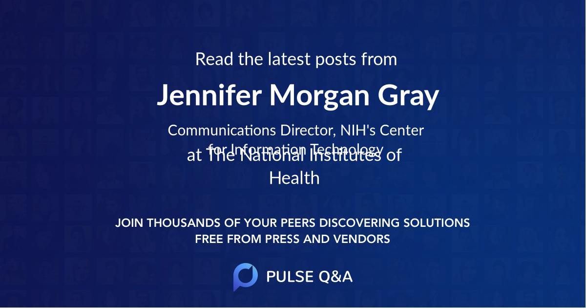 Jennifer Morgan Gray
