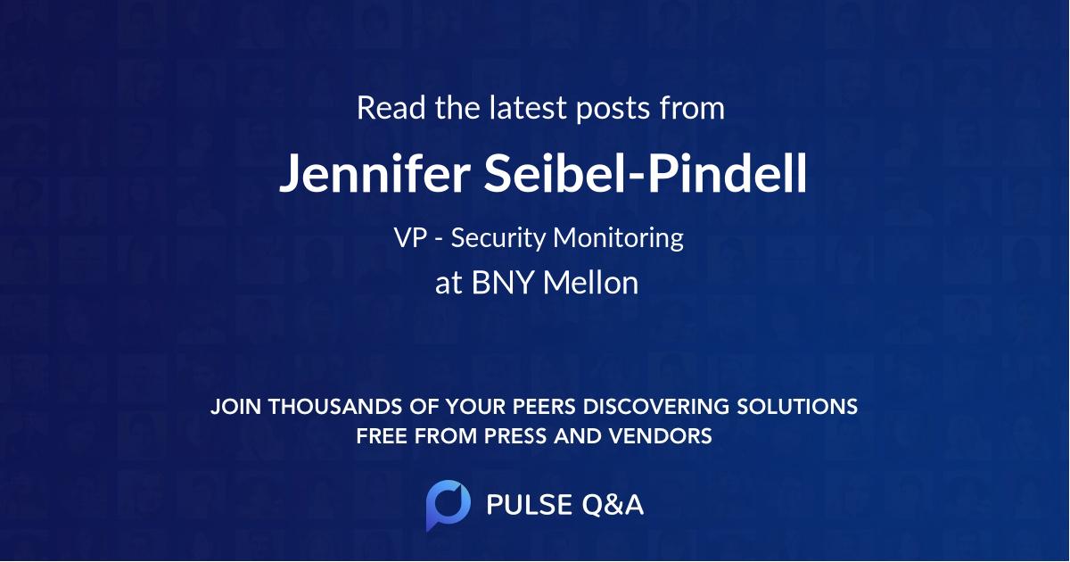 Jennifer Seibel-Pindell