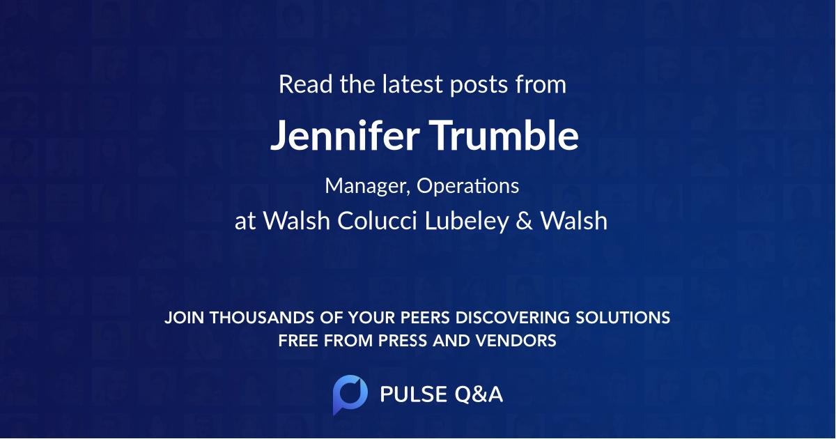 Jennifer Trumble