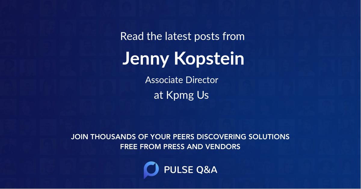 Jenny Kopstein