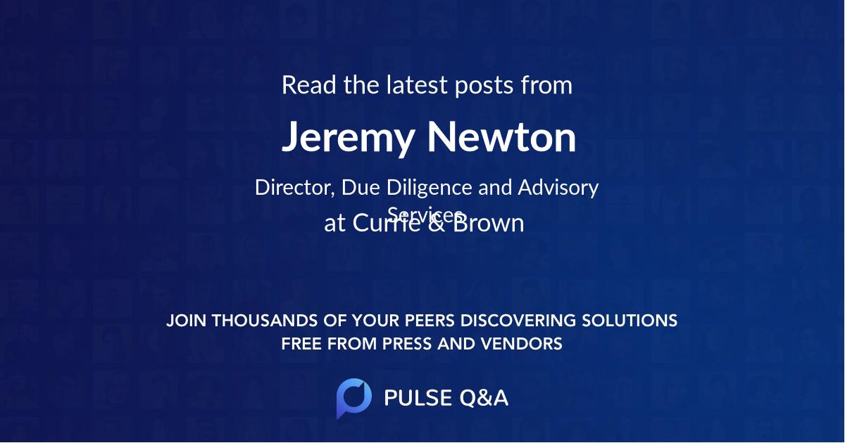 Jeremy Newton