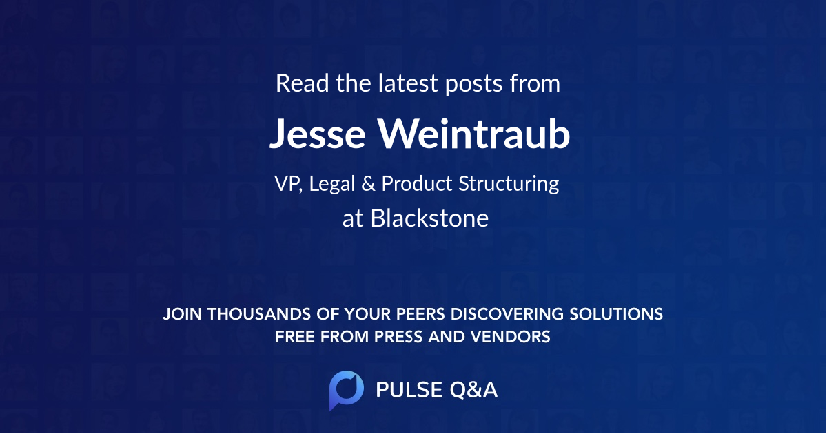 Jesse Weintraub