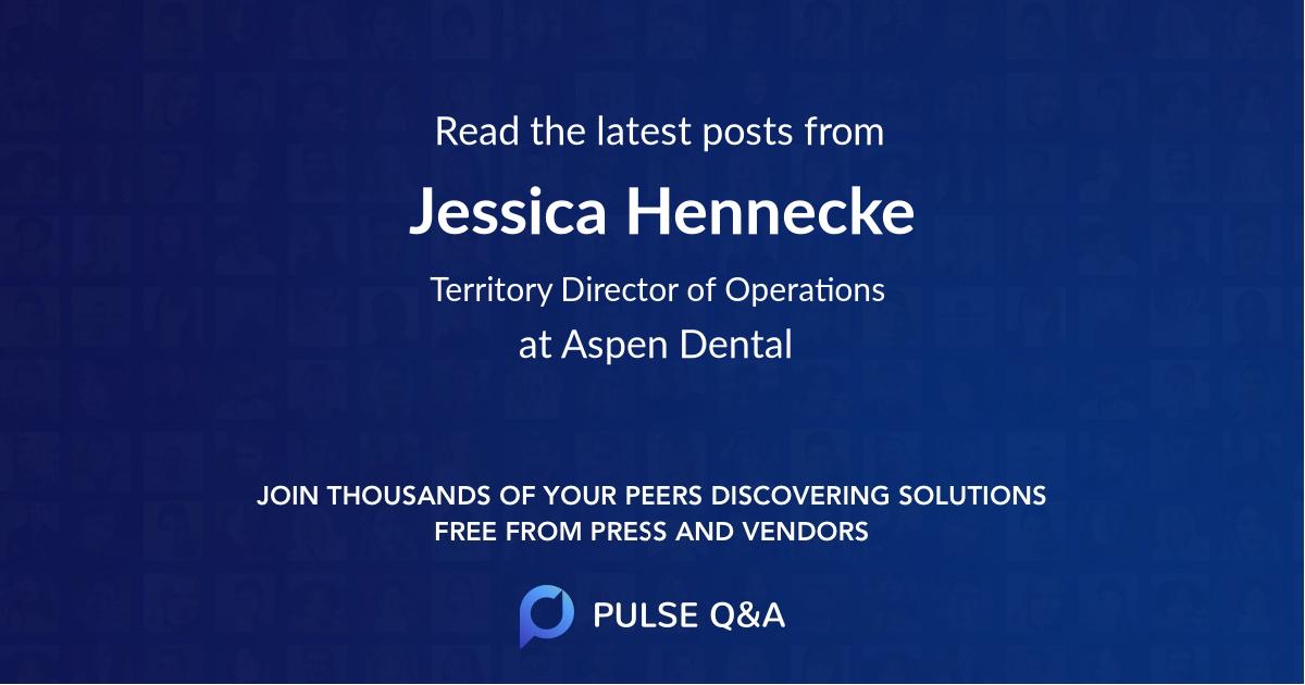Jessica Hennecke