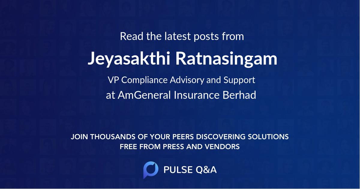 Jeyasakthi Ratnasingam