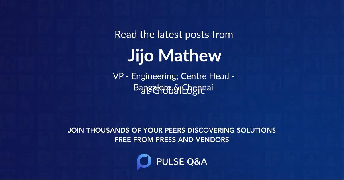 Jijo Mathew