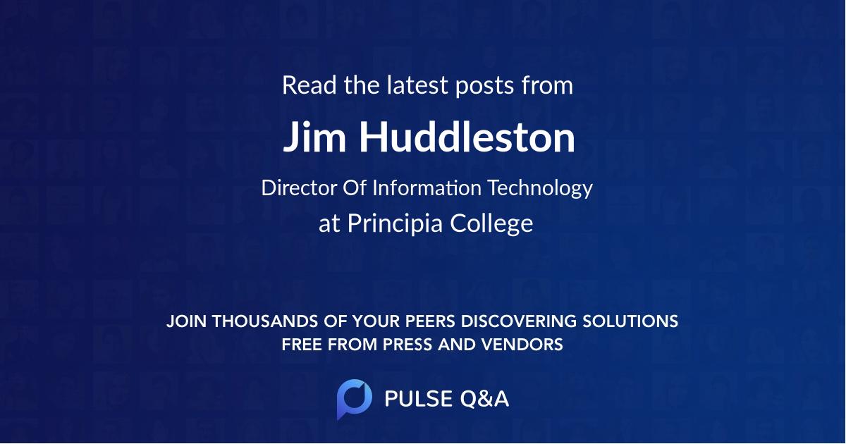 Jim Huddleston