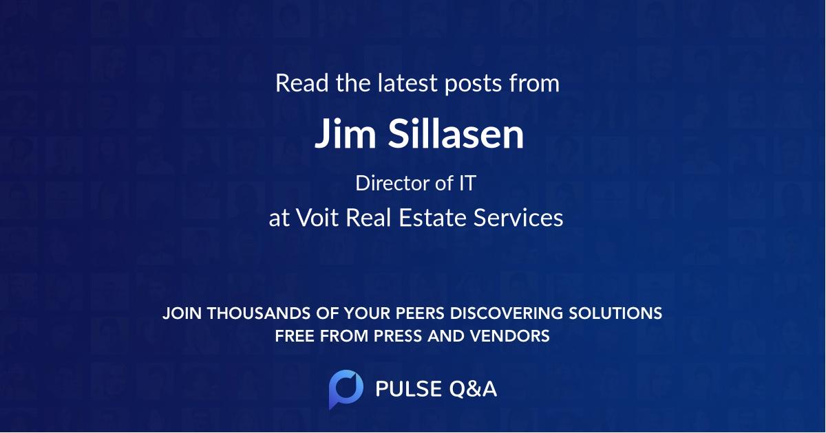 Jim Sillasen