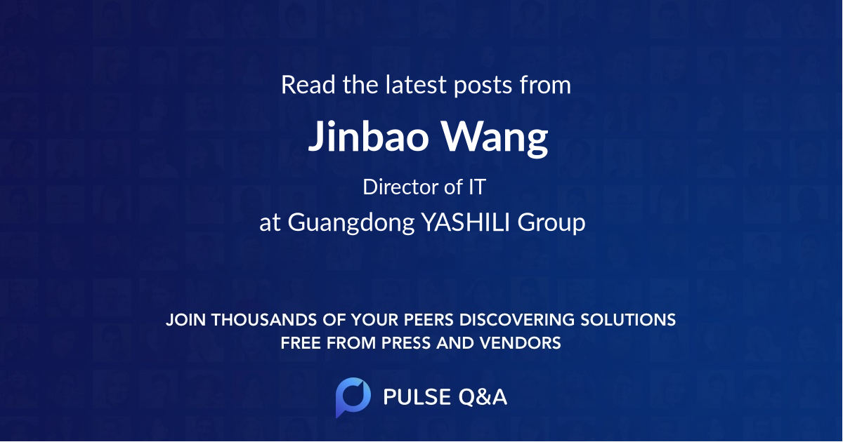 Jinbao Wang