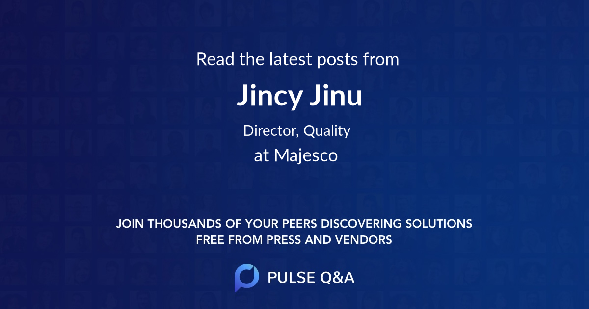 Jincy Jinu