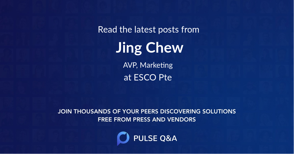 Jing Chew