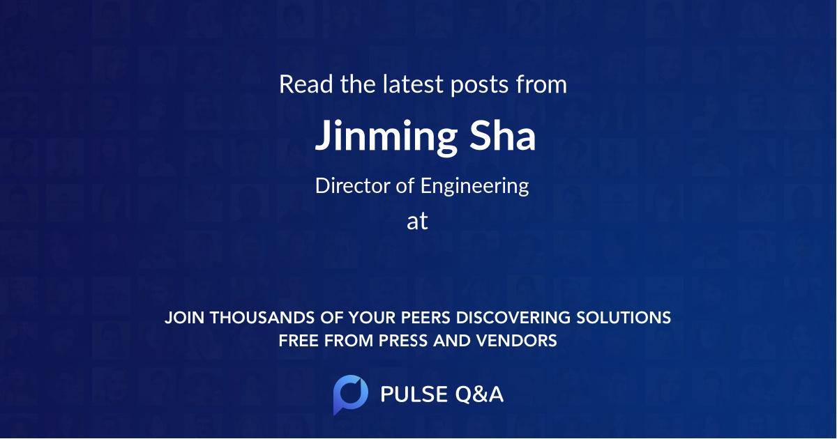 Jinming Sha