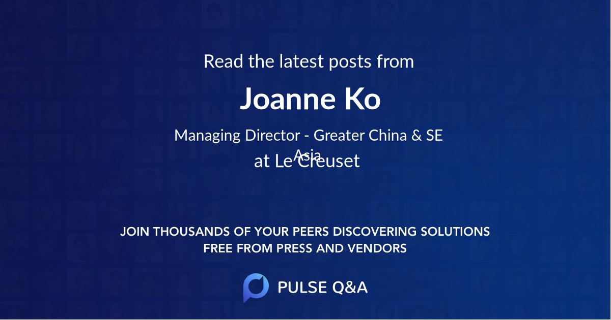 Joanne Ko
