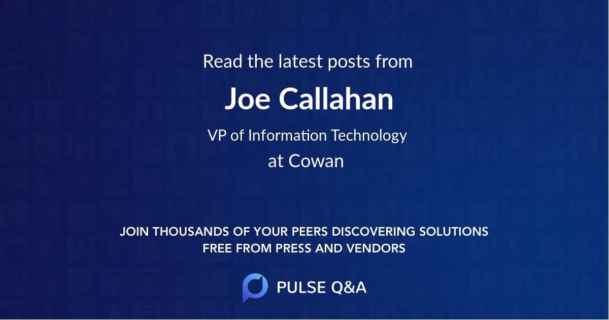 Joe Callahan