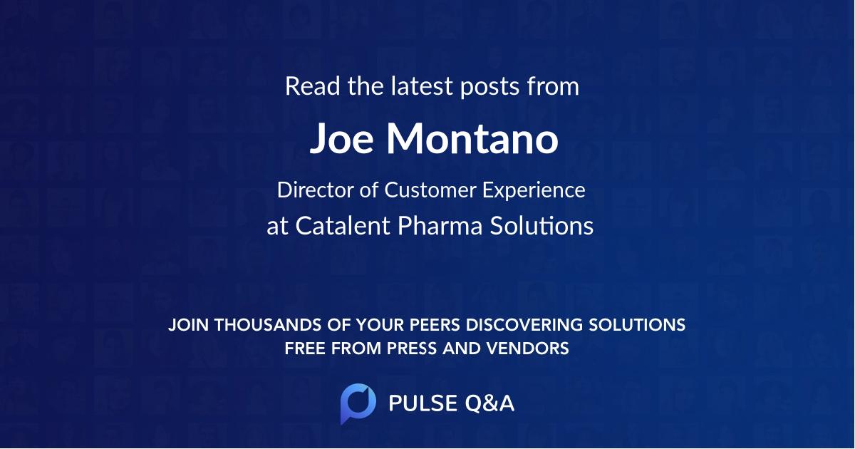 Joe Montano