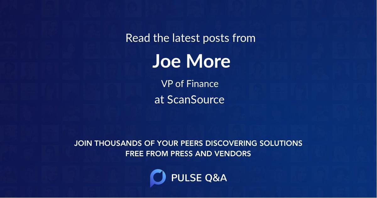 Joe More