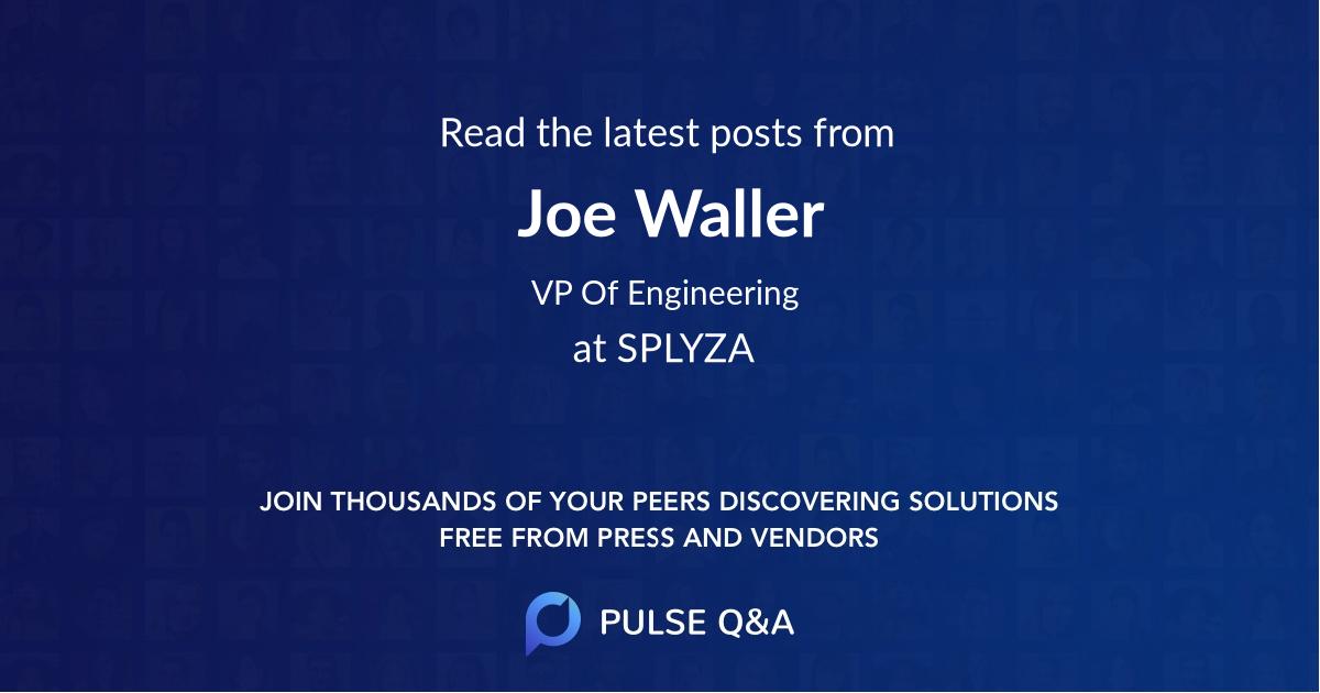 Joe Waller