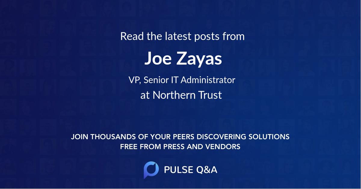 Joe Zayas