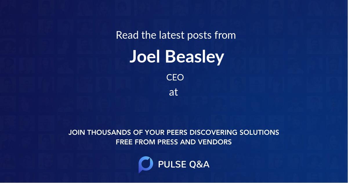 Joel Beasley