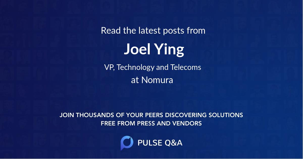Joel Ying