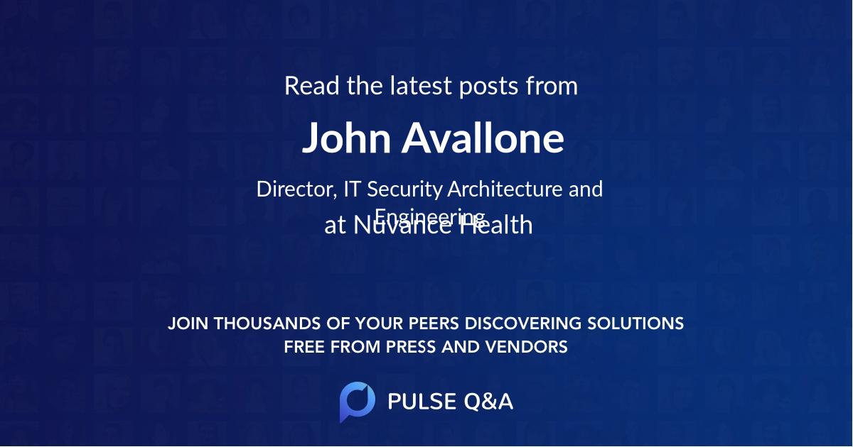 John Avallone