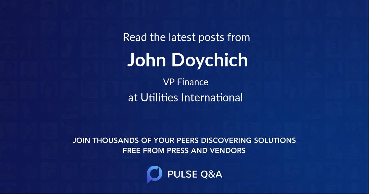 John Doychich