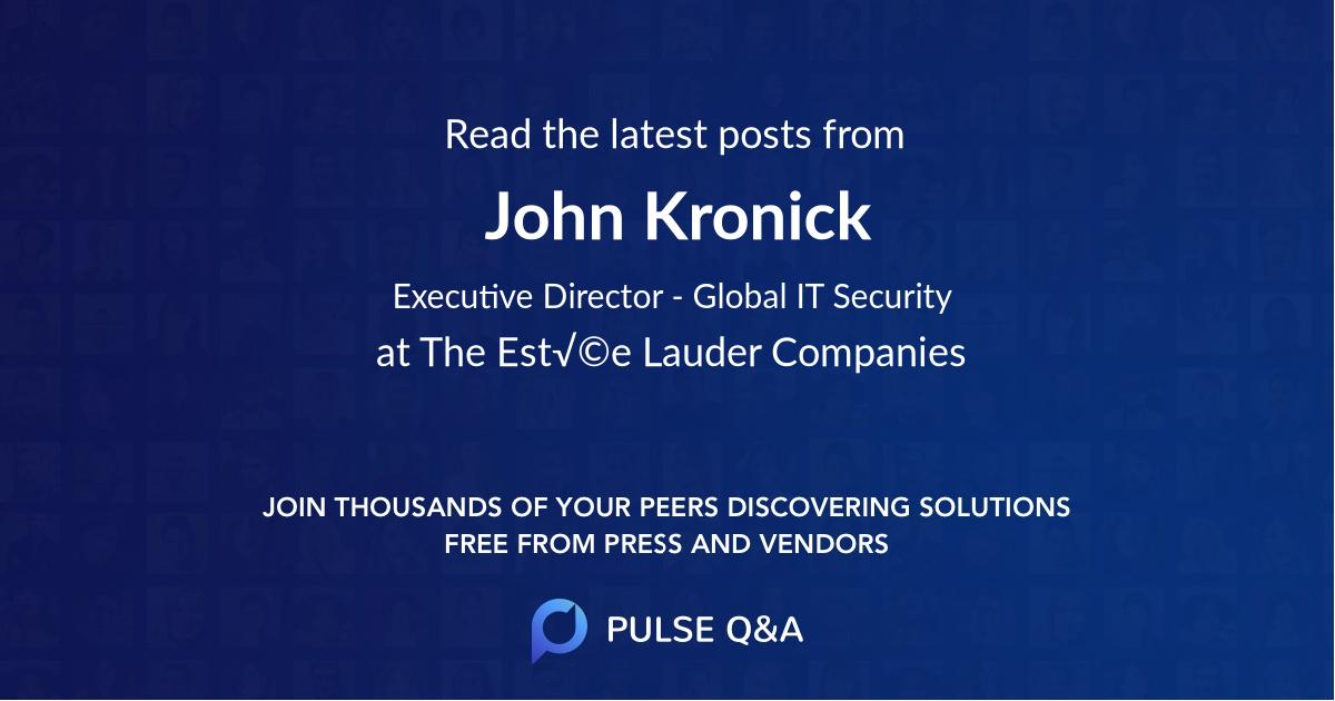 John Kronick