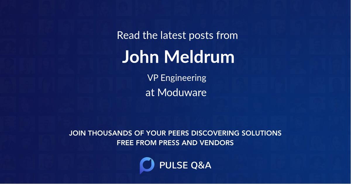 John Meldrum
