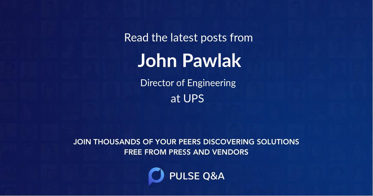 John Pawlak
