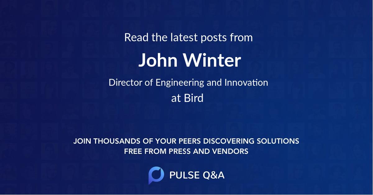 John Winter