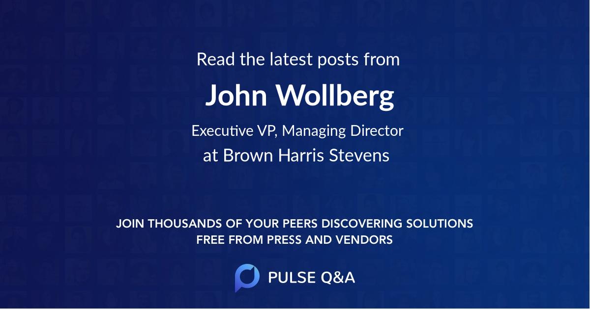 John Wollberg