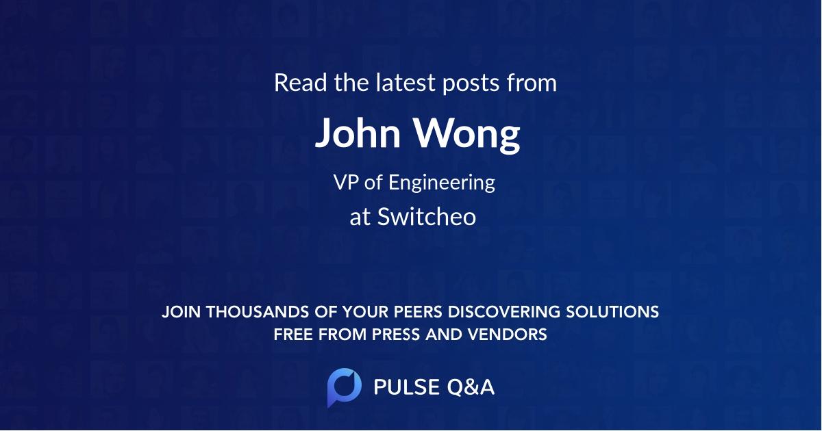 John Wong